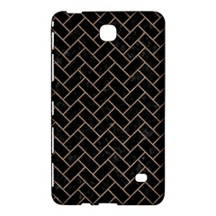 Brick2 Black Marble & Brown Colored Pencil Samsung Galaxy Tab 4 (8 ) Hardshell Case  by trendistuff