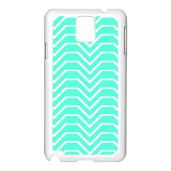 Seamless Pattern Of Curved Lines Create The Effect Of Depth The Optical Illusion Of White Wave Samsung Galaxy Note 3 N9005 Case (white)