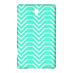 Seamless Pattern Of Curved Lines Create The Effect Of Depth The Optical Illusion Of White Wave Samsung Galaxy Tab S (8 4 ) Hardshell Case  by Mariart