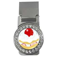 Seeds Strawberry Bread Fruite Red Money Clips (cz)  by Mariart