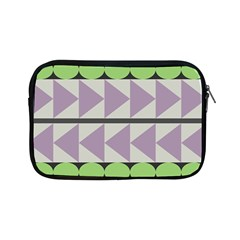 Shapes Patchwork Circle Triangle Apple Ipad Mini Zipper Cases by Mariart