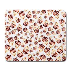 Pine Cones Pattern Large Mousepads by Mariart