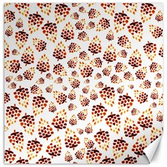 Pine Cones Pattern Canvas 16  X 16