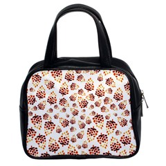 Pine Cones Pattern Classic Handbags (2 Sides)