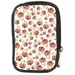 Pine Cones Pattern Compact Camera Cases by Mariart