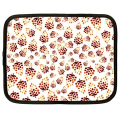 Pine Cones Pattern Netbook Case (xxl)  by Mariart