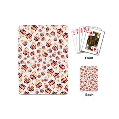 Pine Cones Pattern Playing Cards (mini)  by Mariart