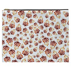 Pine Cones Pattern Cosmetic Bag (xxxl)  by Mariart