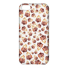 Pine Cones Pattern Apple Iphone 5c Hardshell Case by Mariart