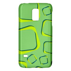 Shapes Green Lime Abstract Wallpaper Galaxy S5 Mini by Mariart