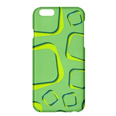 Shapes Green Lime Abstract Wallpaper Apple Iphone 6 Plus/6s Plus Hardshell Case by Mariart