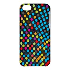Polkadot Rainbow Colorful Polka Circle Line Light Apple Iphone 5c Hardshell Case by Mariart