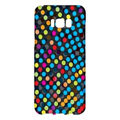 Polkadot Rainbow Colorful Polka Circle Line Light Samsung Galaxy S8 Plus Hardshell Case  by Mariart
