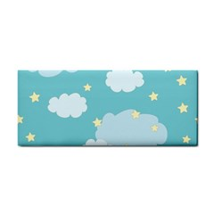 Stellar Cloud Blue Sky Star Cosmetic Storage Cases by Mariart