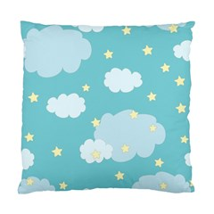 Stellar Cloud Blue Sky Star Standard Cushion Case (two Sides) by Mariart