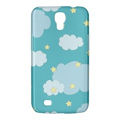 Stellar Cloud Blue Sky Star Samsung Galaxy Mega 6 3  I9200 Hardshell Case by Mariart