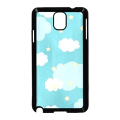 Stellar Cloud Blue Sky Star Samsung Galaxy Note 3 Neo Hardshell Case (black) by Mariart