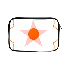 Test Flower Star Circle Orange Apple Ipad Mini Zipper Cases by Mariart