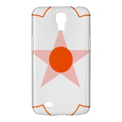 Test Flower Star Circle Orange Samsung Galaxy Mega 6 3  I9200 Hardshell Case by Mariart