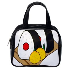 Sushi Food Japans Classic Handbags (one Side) by Mariart
