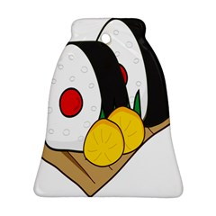 Sushi Food Japans Bell Ornament (two Sides) by Mariart