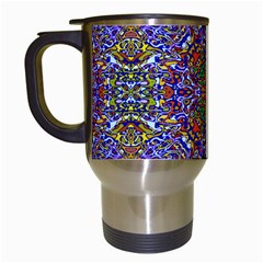 Oriental Pattern 01a Travel Mugs (white) by MoreColorsinLife