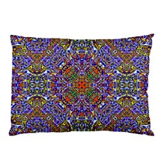 Oriental Pattern 01a Pillow Case by MoreColorsinLife