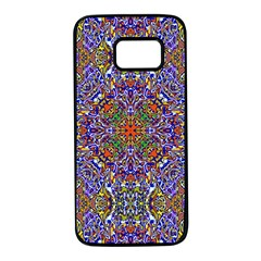Oriental Pattern 01a Samsung Galaxy S7 Black Seamless Case by MoreColorsinLife
