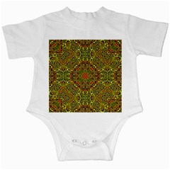 Oriental Pattern 01b Infant Creepers