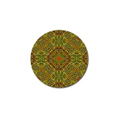 Oriental Pattern 01b Golf Ball Marker (10 Pack) by MoreColorsinLife