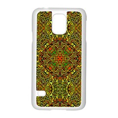 Oriental Pattern 01b Samsung Galaxy S5 Case (white) by MoreColorsinLife