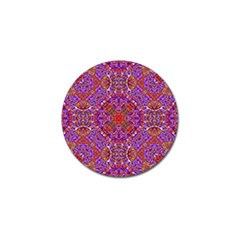 Oriental Pattern 01c Golf Ball Marker (10 Pack) by MoreColorsinLife