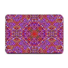 Oriental Pattern 01c Small Doormat  by MoreColorsinLife