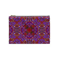 Oriental Pattern 01c Cosmetic Bag (medium)  by MoreColorsinLife