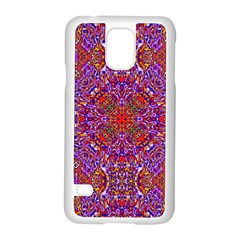 Oriental Pattern 01c Samsung Galaxy S5 Case (white) by MoreColorsinLife