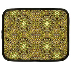 Oriental Pattern 02a Netbook Case (large) by MoreColorsinLife