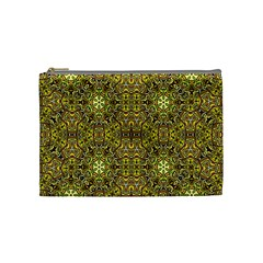 Oriental Pattern 02a Cosmetic Bag (medium)  by MoreColorsinLife
