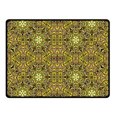 Oriental Pattern 02a Double Sided Fleece Blanket (small)  by MoreColorsinLife