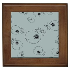 Tiny Octopus Framed Tiles