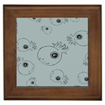 Tiny Octopus Framed Tiles Front