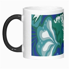 Tropics Leaf Bluegreen Morph Mugs by Mariart