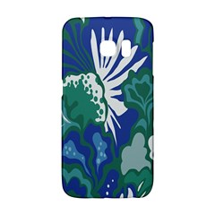 Tropics Leaf Bluegreen Galaxy S6 Edge by Mariart