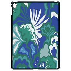 Tropics Leaf Bluegreen Apple Ipad Pro 9 7   Black Seamless Case by Mariart