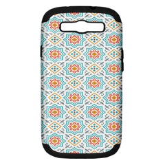 Star Sign Plaid Samsung Galaxy S Iii Hardshell Case (pc+silicone) by Mariart