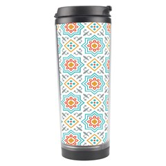 Star Sign Plaid Travel Tumbler by Mariart