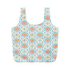 Star Sign Plaid Full Print Recycle Bags (m)