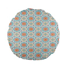 Star Sign Plaid Standard 15  Premium Flano Round Cushions by Mariart
