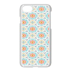 Star Sign Plaid Apple Iphone 7 Seamless Case (white) by Mariart