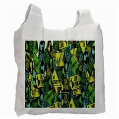 Sign Don t Panic Digital Security Helpline Access Recycle Bag (one Side) by Mariart