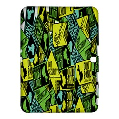 Sign Don t Panic Digital Security Helpline Access Samsung Galaxy Tab 4 (10 1 ) Hardshell Case  by Mariart